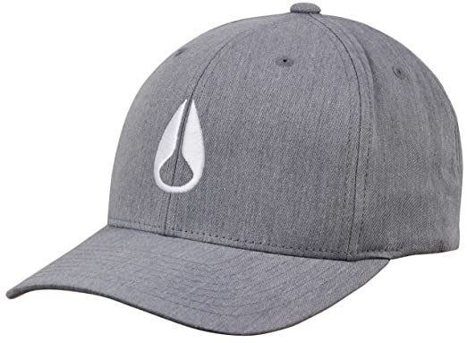 Amazon.com  NIXON Wings Snapback Hat - Heather Grey White  Clothing 2649c82d0aa