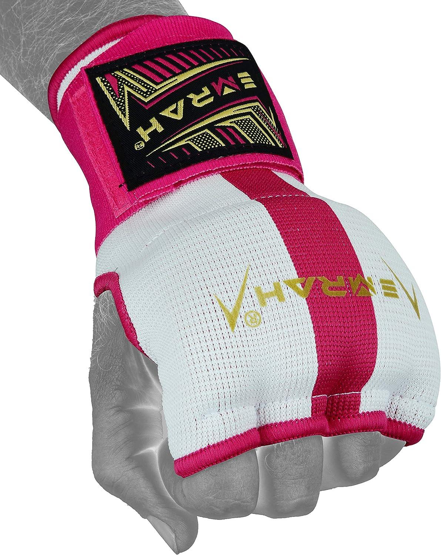 EMRAH Pro Training Gel de Boxe Gants int/érieurs Enveloppements /à la Main MMA Fist Protector Bandages Mitts-X Boxing Hand Wraps