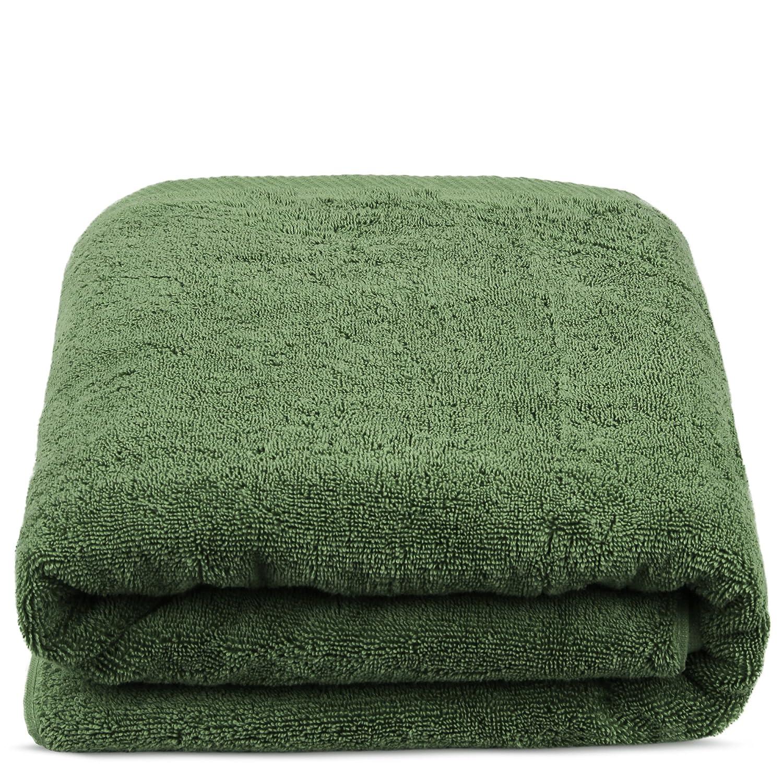Bath Sheet Oversize, Moss TURKUOISE TURKISH TOWEL /% 100 Turkish Cotton Luxury and Super Soft Towels