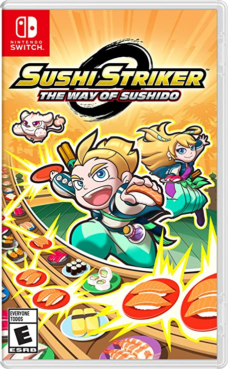 Jogo Sushi Striker: The Way Of Sushido - Switch - Nintendo