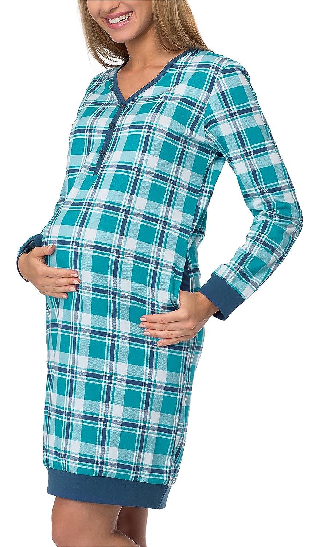 Cornette Stillnachthemd Schlafhemd 606
