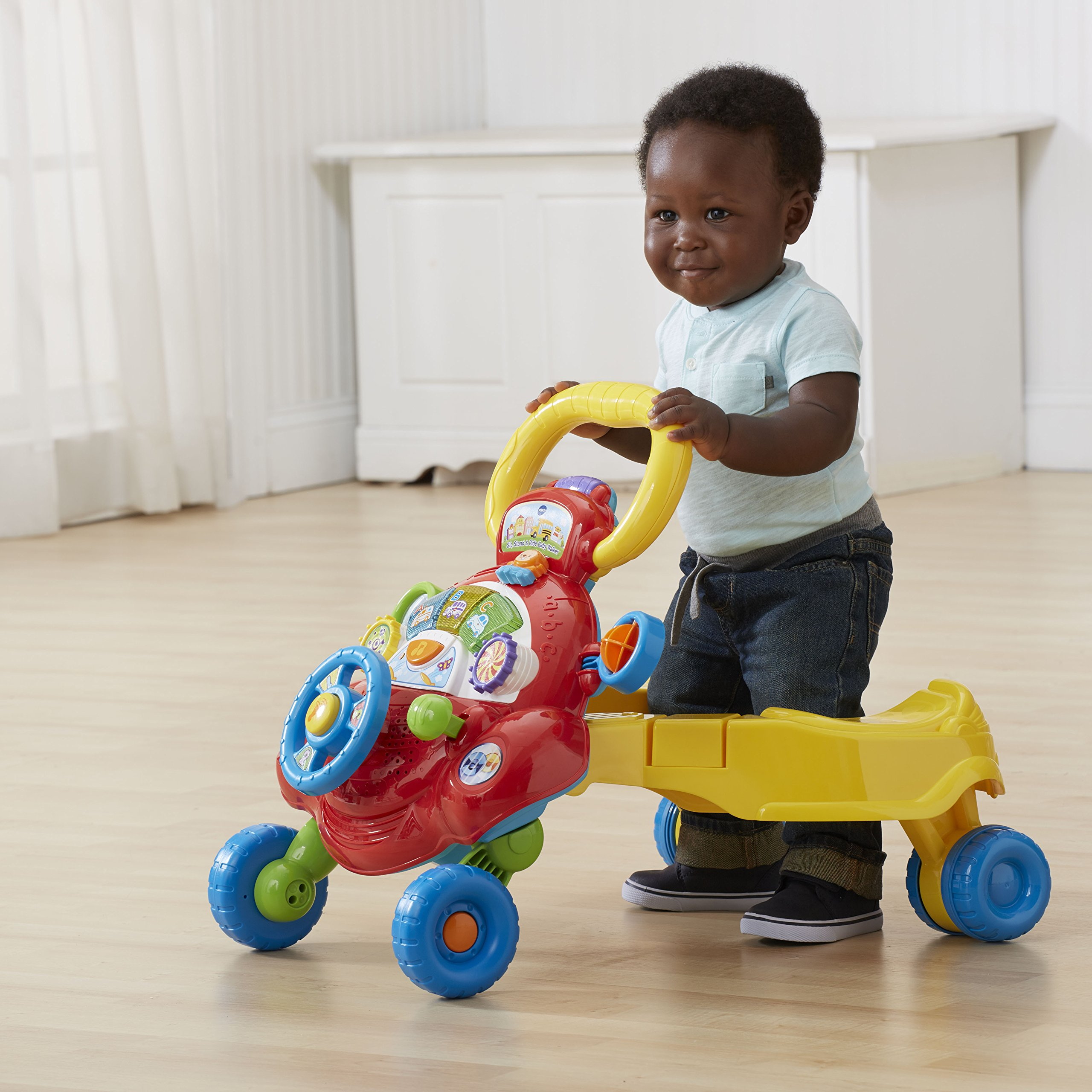 VTech Sit, Stand and Ride Baby Walker (Frustration Free Packaging) (Amazon Exclusive) by VTech (Image #9)