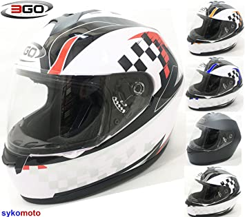 3 GO adultos E36 Rapid Completo cara absturz barato Integral casco rojo