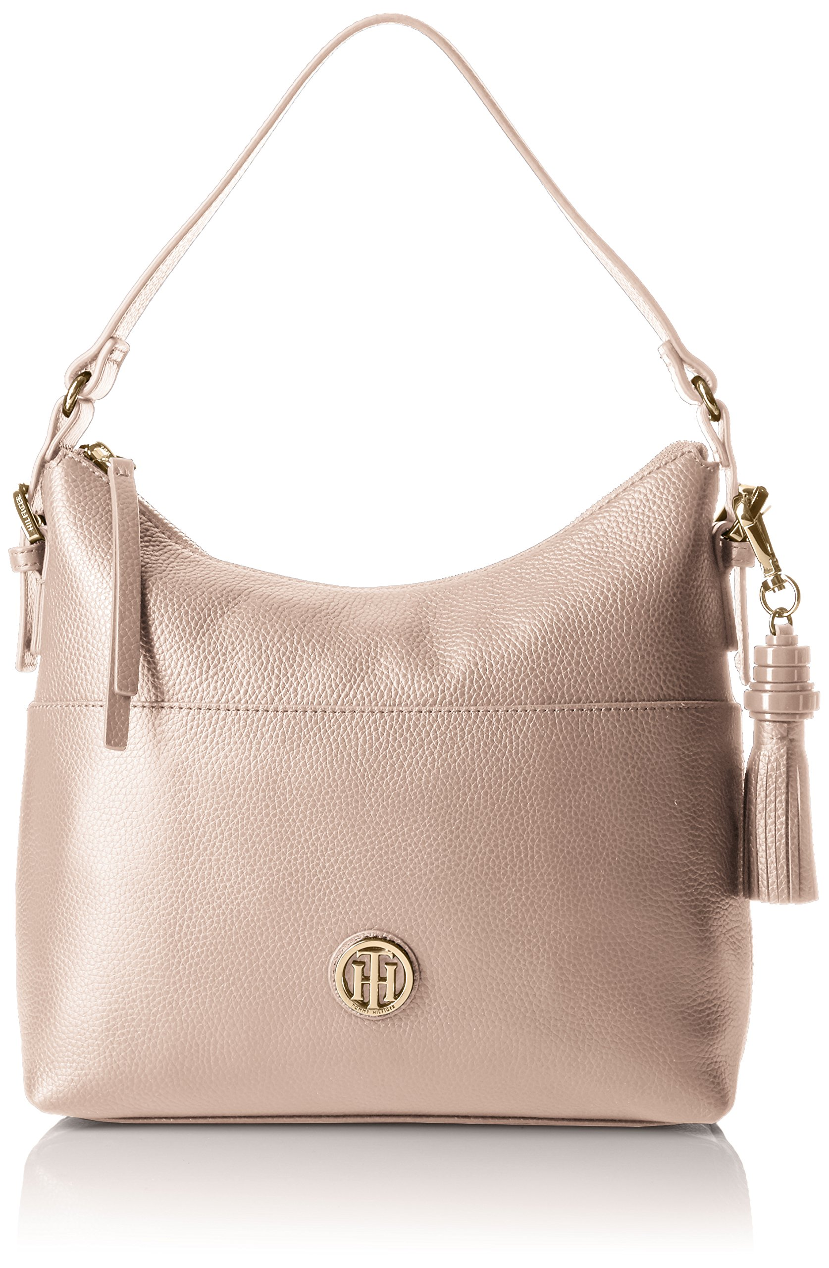 Tommy Hilfiger Purse for Women Summer of Love Hobo, Blush