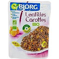 Bjorg Lentilles Carottes Bio - Doypack 250 g(Lot de 3)