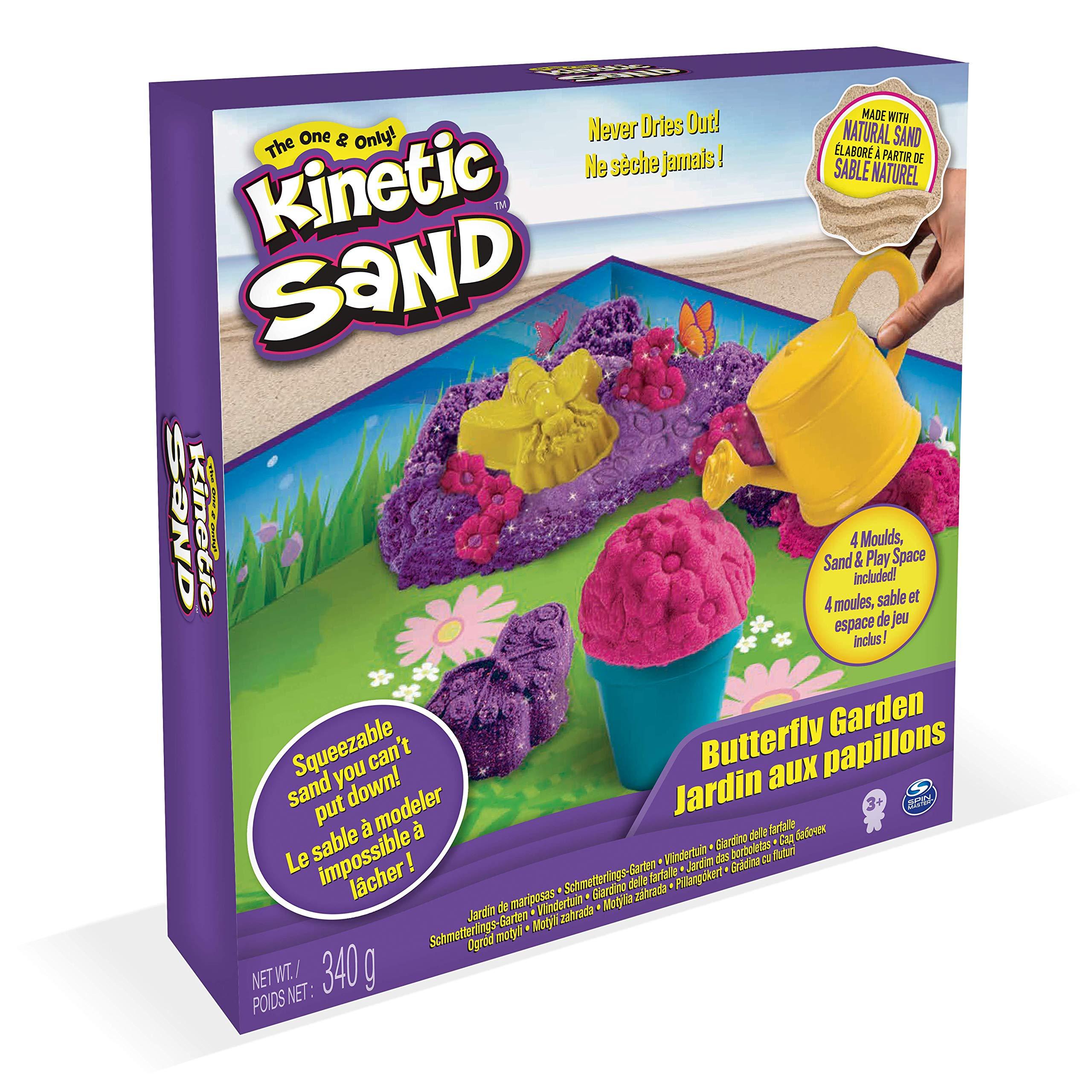 1lb 450g Pink Play Sand Box with 3 Disney Princess Play Sand Set for Kids