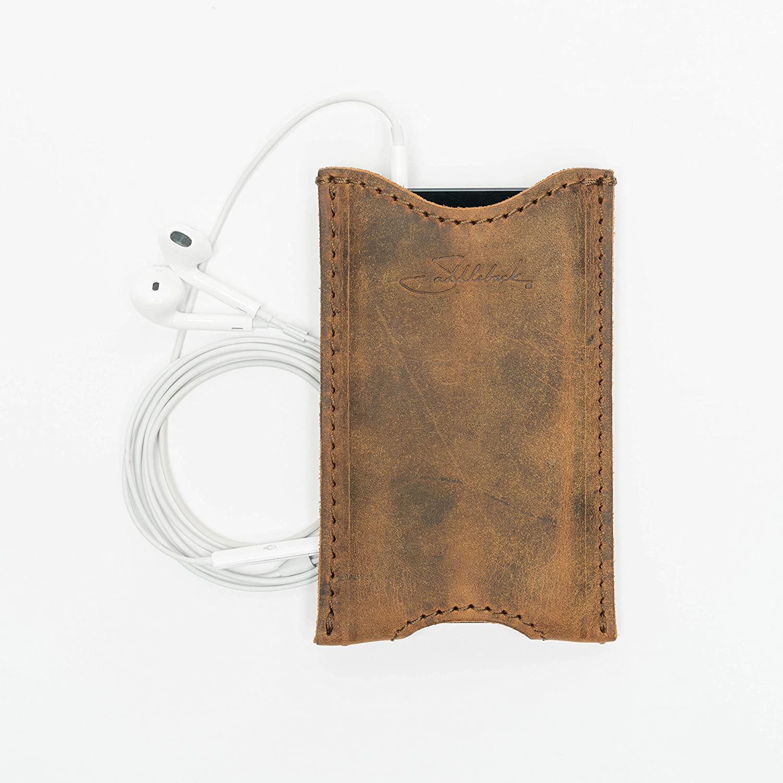brand new 18151 a6d85 Saddleback Leather iPhone 5 Case Tobacco: Amazon.co.uk: Electronics