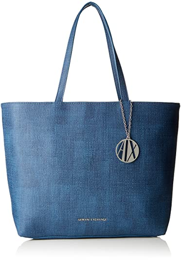 04973555b6e Armani Exchange Texturized Shoulder Bag