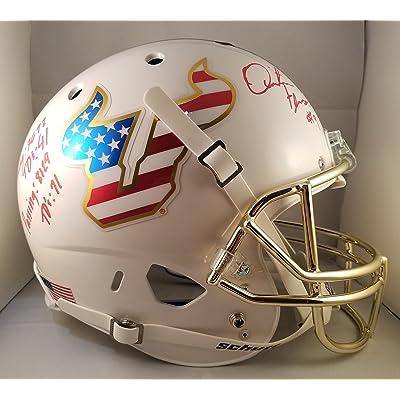 Quinton Flowers Autographed Signed Full Size Helmet USF South Florida Bulls  JSA 929e9b49a