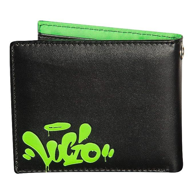 8fe816a8594 Amazon.com  JINX Overwatch Lucio  Sound Barrier  Graphic Bi-Fold Wallet  (Black