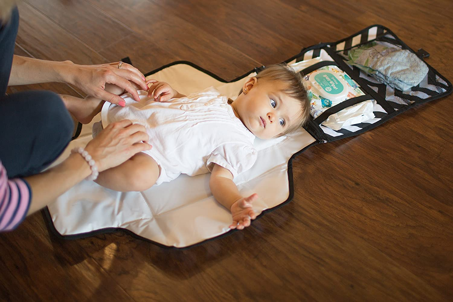 Amazon.com : Travel Diaper Changing Pad for Babies - Foldable Mat ...