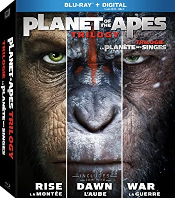 Planet Of The Apes Trilogy Box set (Bilingual) [Blu-ray]