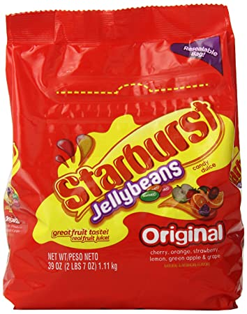 Swell Starburst Original Jellybeans Candy Bag 39 Ounce Squirreltailoven Fun Painted Chair Ideas Images Squirreltailovenorg