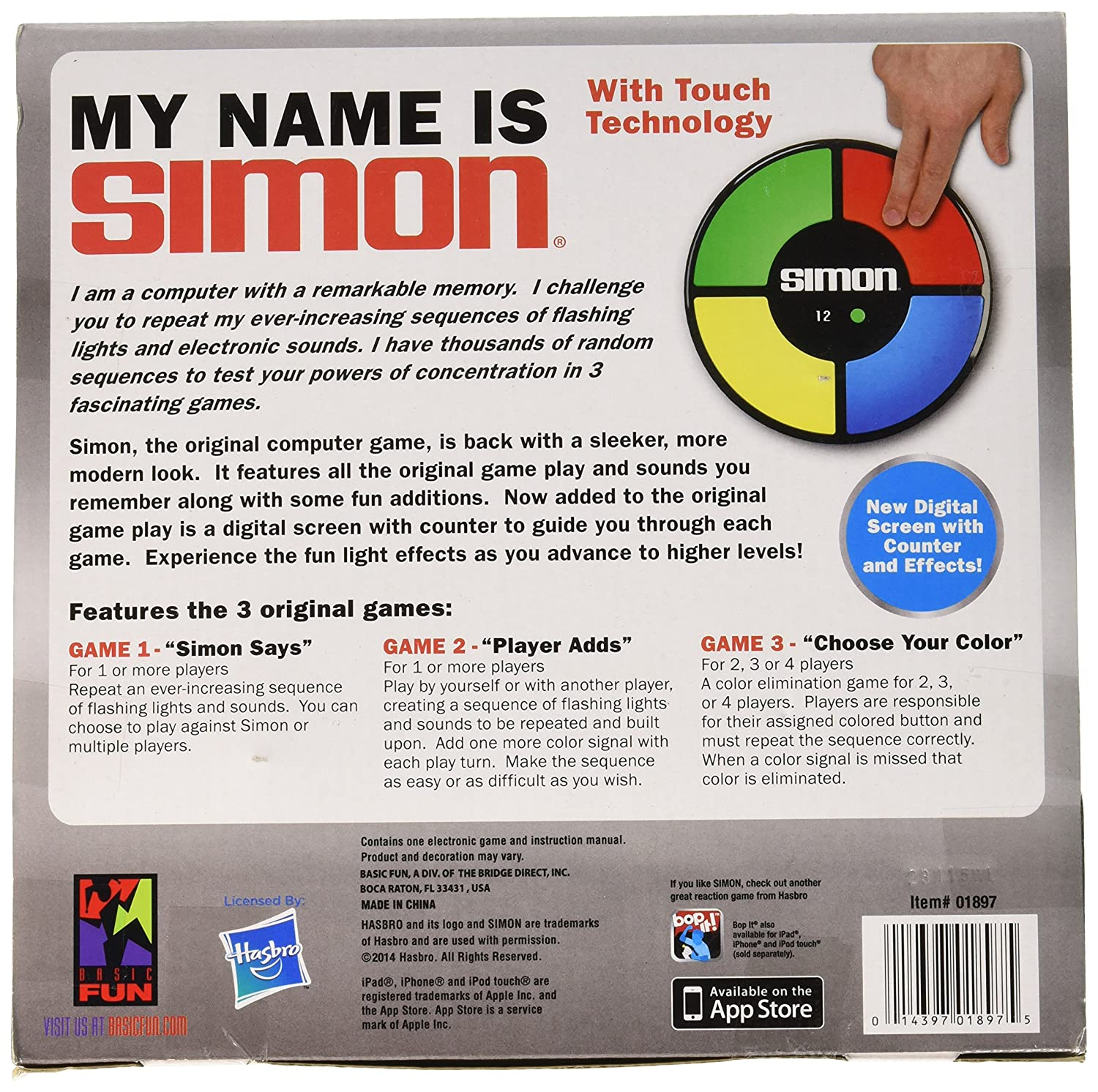 Amazon Simon Electronic Memory Game Toys Games