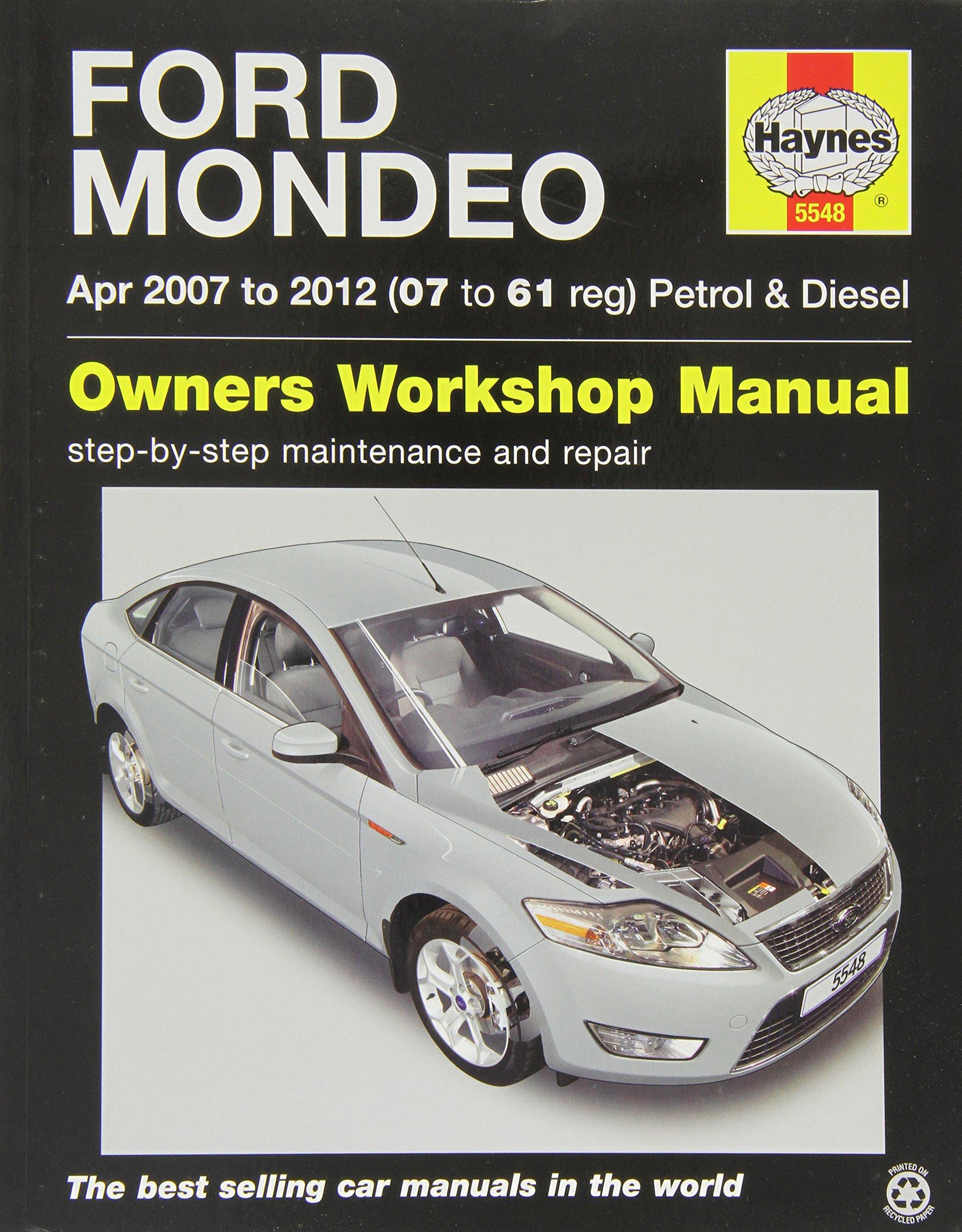Haynes 5548 Service and Repair Workshop Manual: Amazon.co.uk:  0638876409629: Books