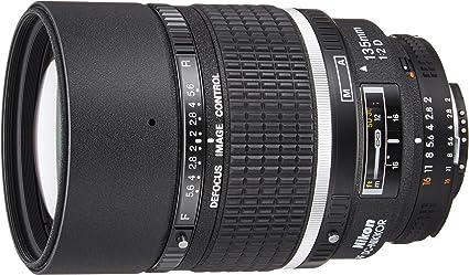 Nikon 135 Mm F 2 0 D Objektiv Kamera