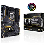 ASUS TUF Z390-Plus Gaming (Wi-Fi) LGA1151 (Intel 8th and 9th Gen) DDR4 DP HDMI M.2 Z390 ATX Motherboard 802.11ac Wi-Fi…
