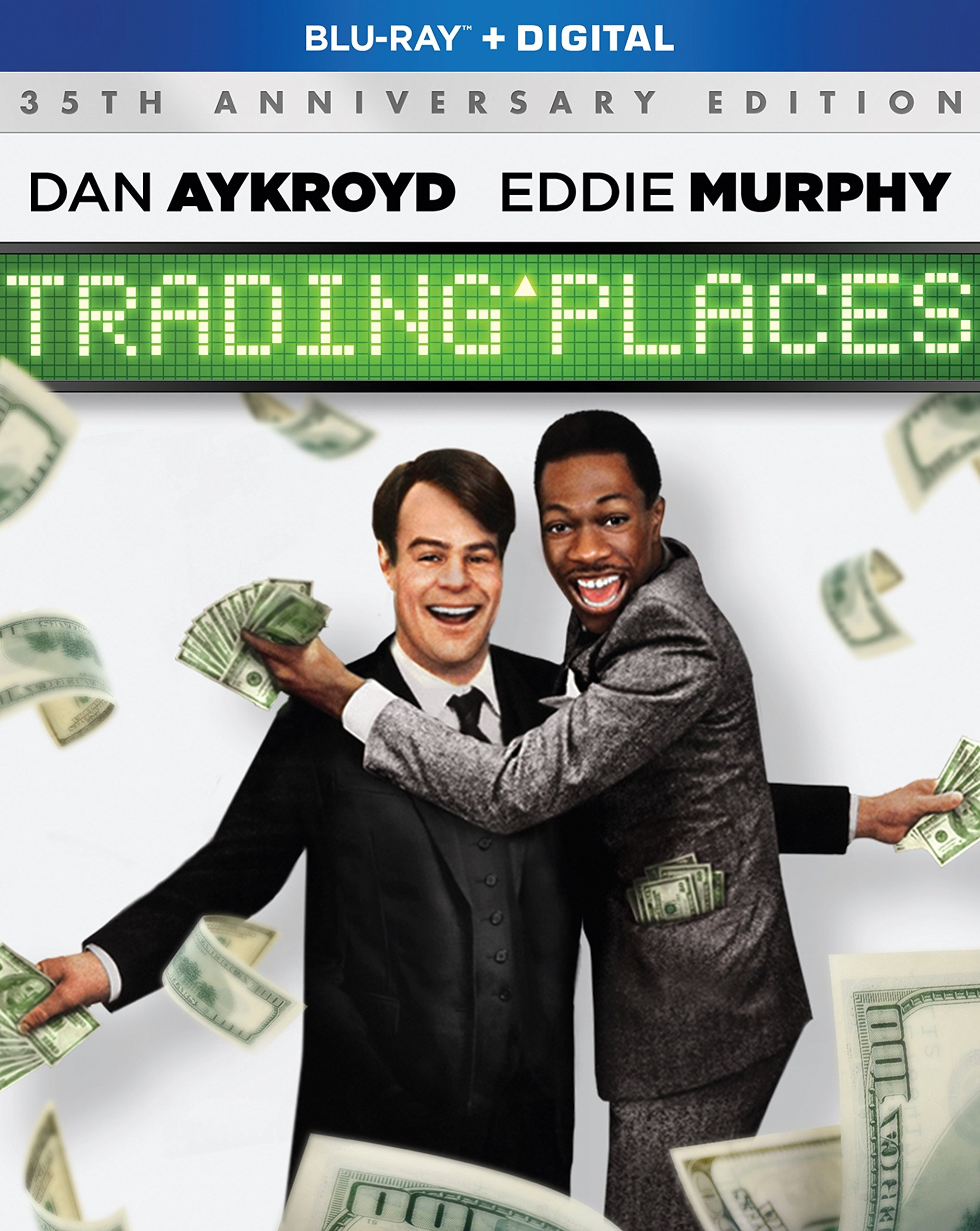 Blu-ray : Trading Places (Anniversary Edition, Widescreen, Digital Copy, O-Card Packaging, Dolby)