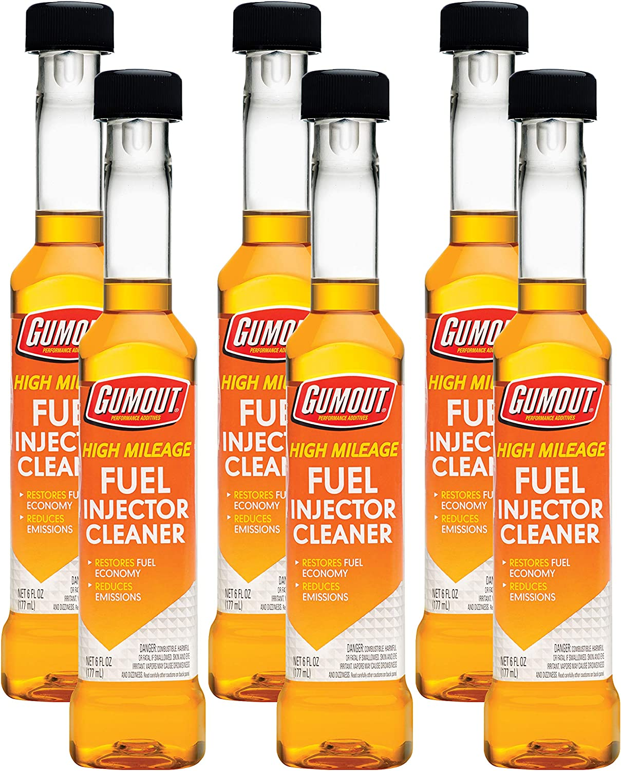 Gumout High-Mileage Fuel Injector Cleaner