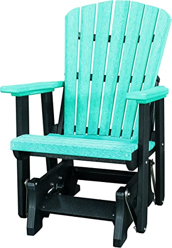 OS Home and Office 515ARB Single Glider, One Size, Aruba Blue Black