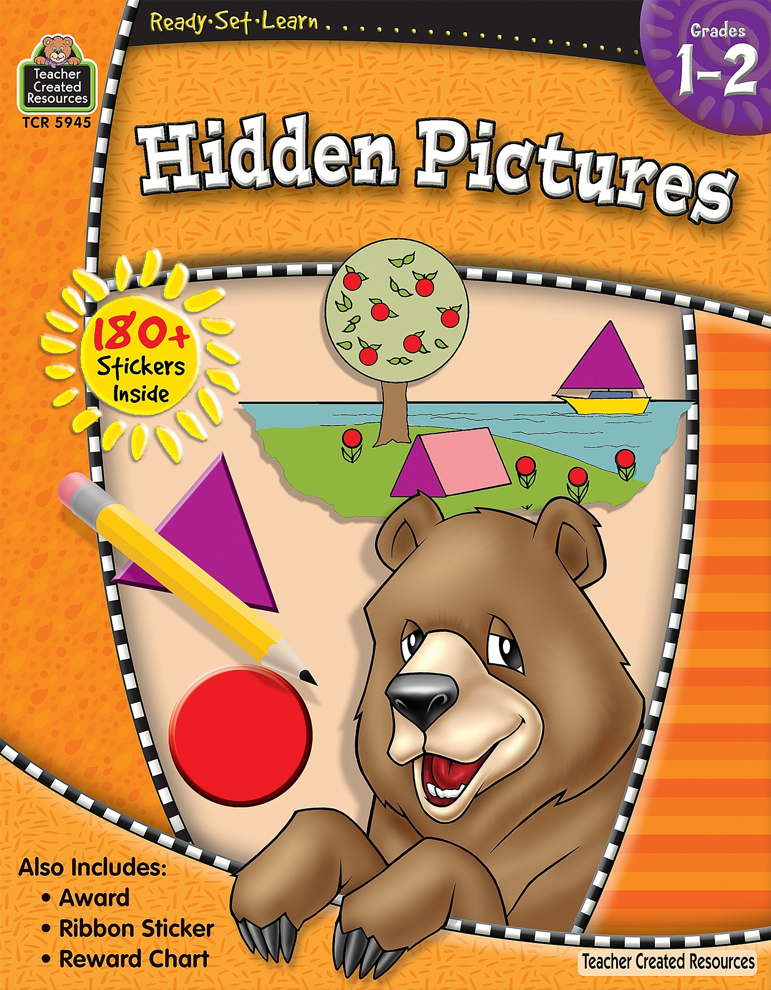 Download Ready-Set-Learn: Hidden Pictures Grd 1-2 ebook