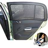 Sun Shade Sox Universal Fit Baby Rear Car Side Window Sun Shades (PACK OF 2) For Kids ARPANSA TESTED