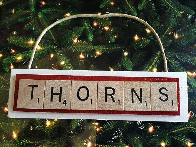 THORNS Portland Soccer MLS Christmas Ornament Scrabble Tiles - Amazon.com: THORNS Portland Soccer MLS Christmas Ornament Scrabble