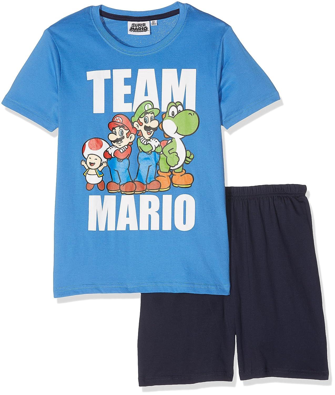 MARIO BROS 79701, Conjuntos de Pijama para Niños, Azul (Bleu), 4 años: Amazon.es: Ropa y accesorios