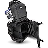 Ultimaxx Photo Camera Sling Backpack Bag for DSLR and Mirrorless Cameras (Canon, Nikon, Sony, Fujifilm, Olympus…