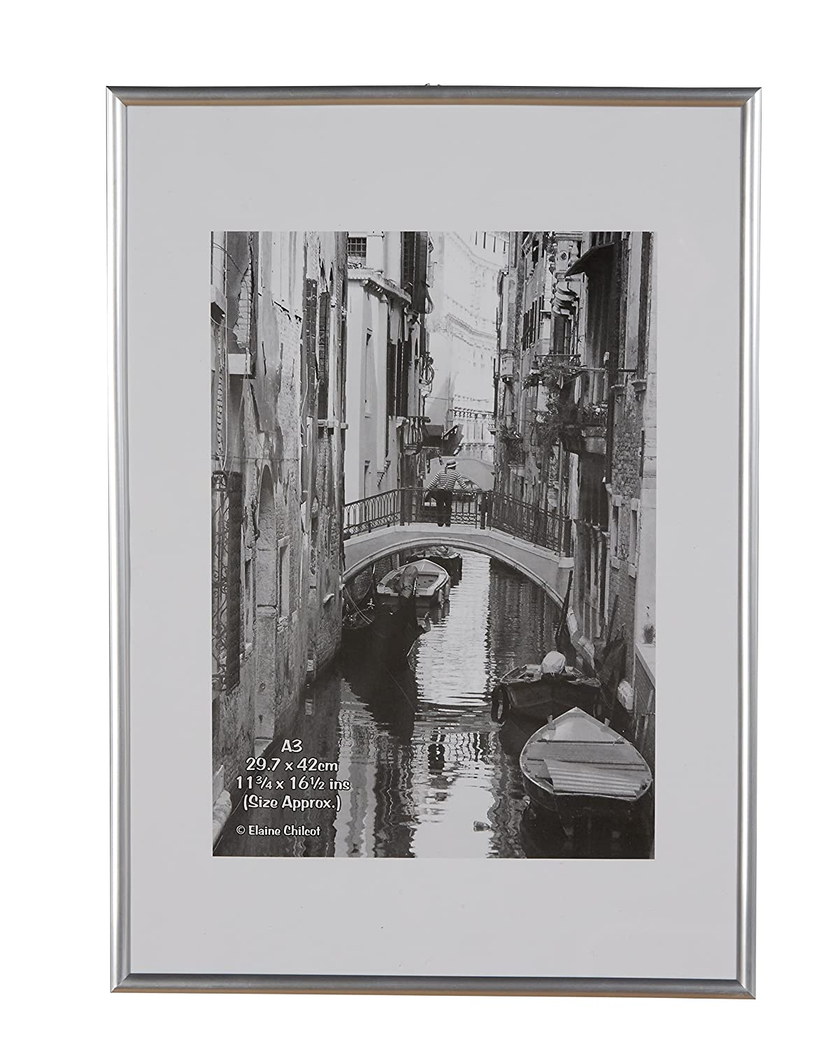 The photo album company 30 x 42 cm a3 photo frame silver amazon the photo album company 30 x 42 cm a3 photo frame silver amazon kitchen home jeuxipadfo Image collections