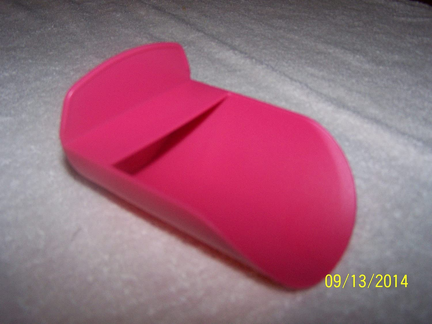 Tupperware Rocker Canister Scoop Rose Color by Tupperware