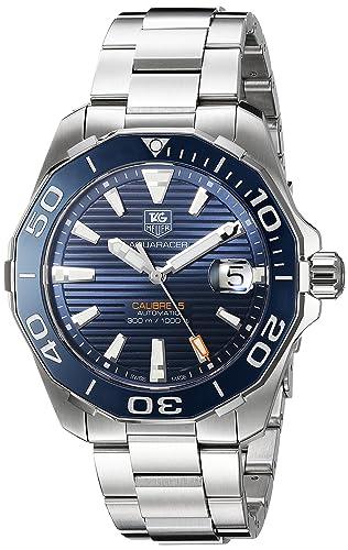 TAG Heuer Aquaracer Swiss reloj automático de acero inoxidable de los hombres de, Color