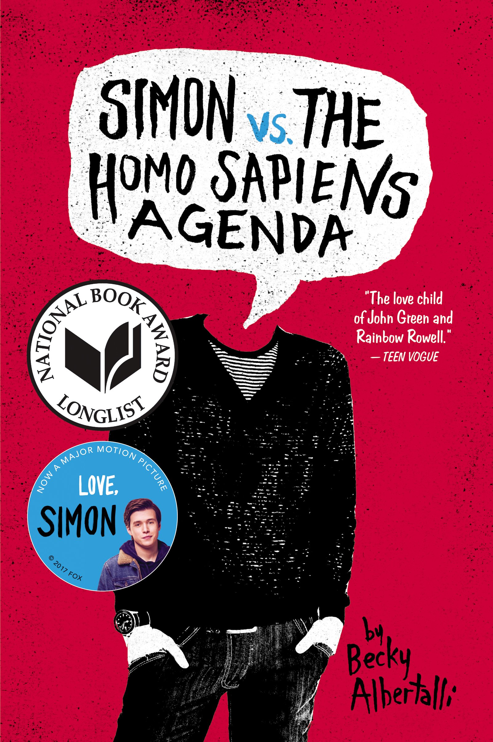 Amazon.com: Simon vs. the Homo Sapiens Agenda (9780062348685): Albertalli,  Becky: Books
