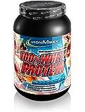 IronMaxx 100% Whey Protein / Proteinpulver für Eiweißshake / Eiweißpulver auf Wasserbasis mit Apfel-Zimt Geschmack / 1 x 900 g Dose