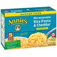 Deals on Annies Gluten Free Rice Pasta & Cheddar Macaroni & Cheese 10.7 oz