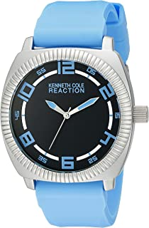 Kenneth Cole REACTION Unisex 10014705 Street Analog Display Japanese Quartz Blue Watch