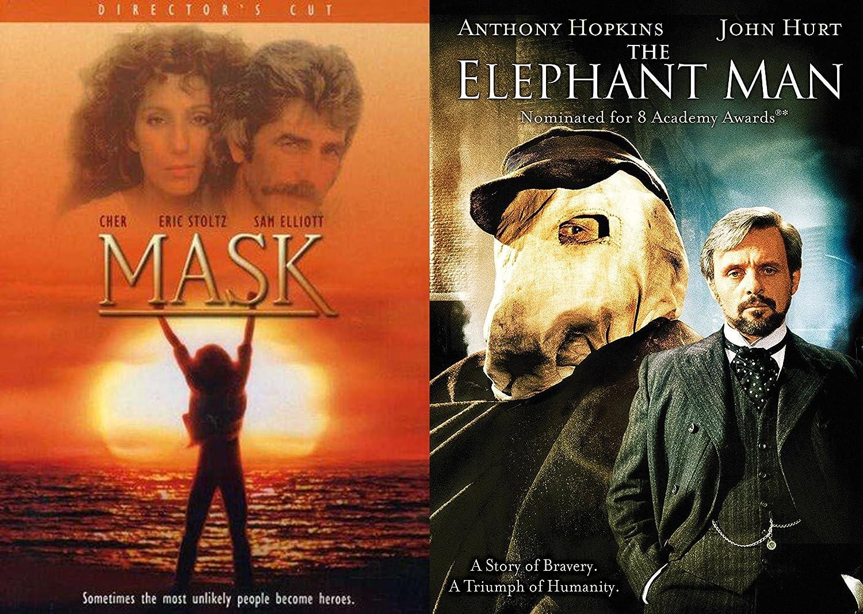 Amazon Com True Stories Of Inspiration Mask Director S Cut The Elephant Man 2 Movie Bundle Anthony Hopkins Eric Stoltz David Lynch Peter Bagdonovich Movies Tv