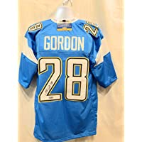 $89 » Melvin Gordon Los Angeles Chargers Signed Autograph Powder Blue Custom Jersey Certified ***BLOWOUT PRICE***