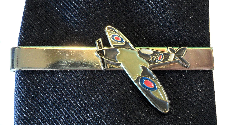 RAF Bataille dAngleterre Spitfire Pilot Flying Veteran WW2/Pince /à cravate en m/étal /émaill/é