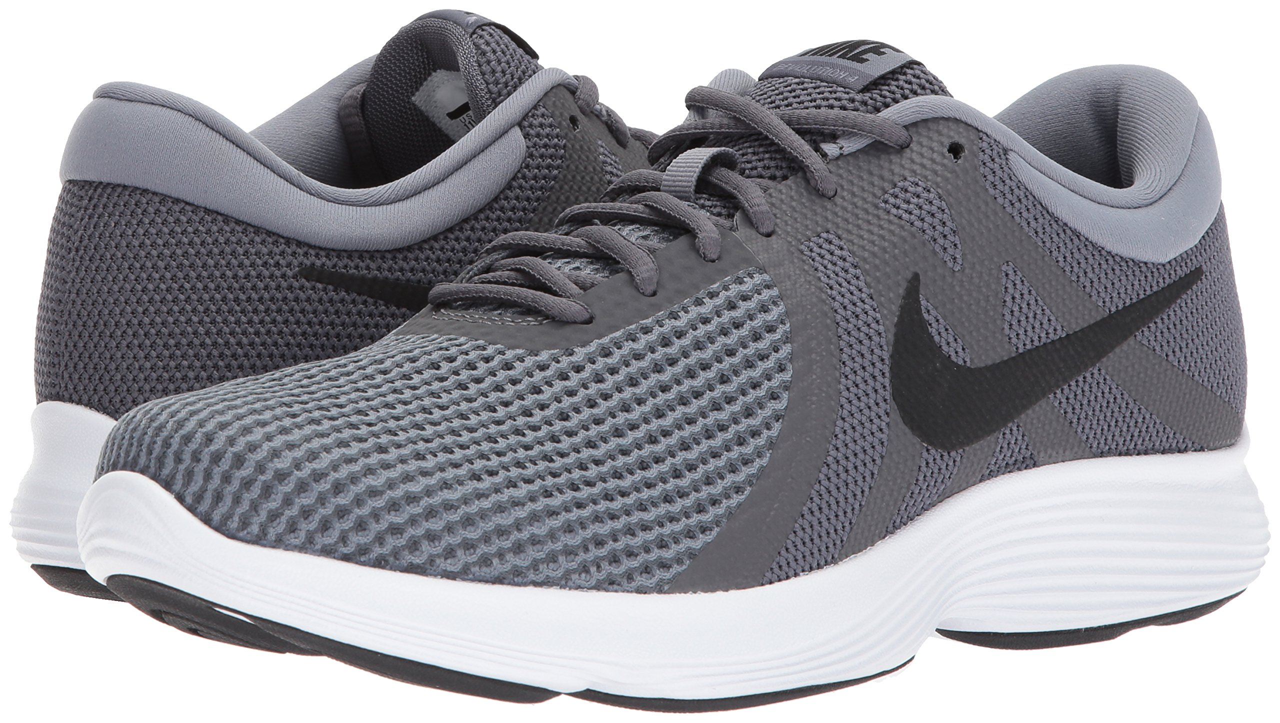 Nike Men's Revolution 4 Running Shoe, Dark Black-Cool Grey/White, 6 Regular US by Nike (Image #5)