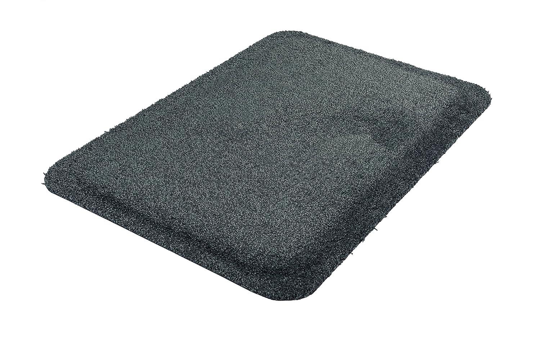 grau Kleen-Tex 077435 Kleen-Komfort Soft Anti-Erm/üdungsmatte Premium Qualit/ät 55 x 78 cm