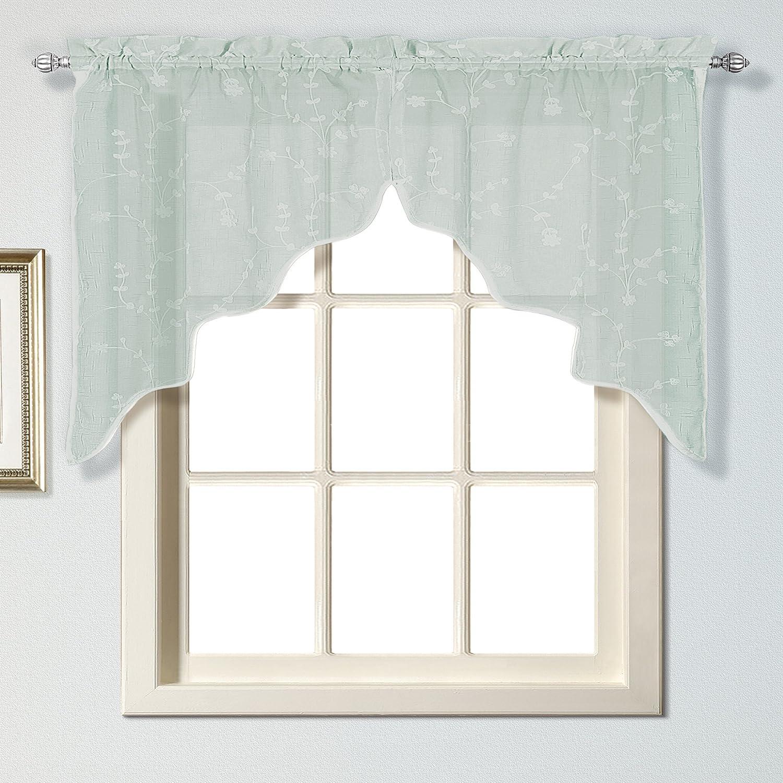 51 by 84-Inch Black SAV84BK United Curtain Savannah Window Curtain Panel