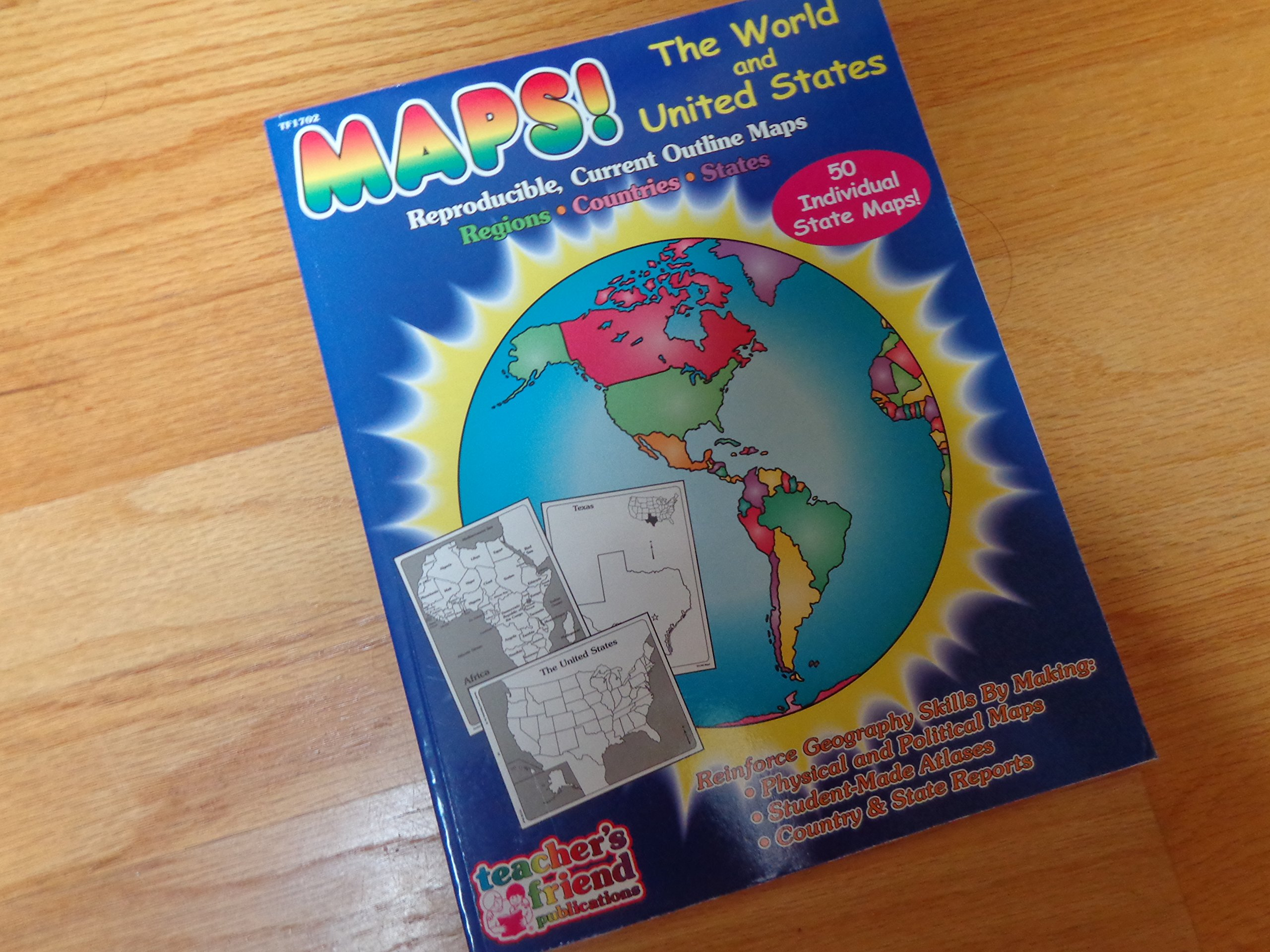 Amazon.in: Buy Maps - The World and United States Book Online at Low on