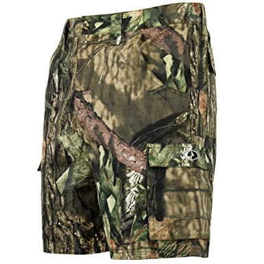 966ca95c35 Mossy Oak Tibbee Camo Cargo Shorts for Men in Multiple Camo Patterns |  Amazon.com