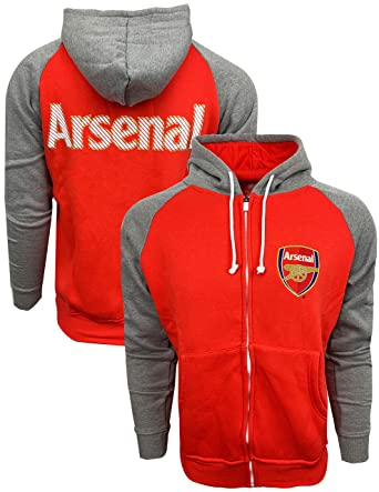 separation shoes ff93a 4c8d3 Amazon.com: Arsenal FC full zip hoodie, Official Arsenal ...
