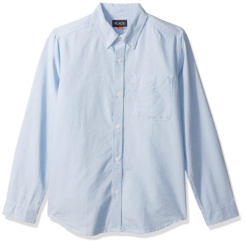The Children's Place Boys' Long Sleeve Uniform Oxford Shirt The Children' s Place