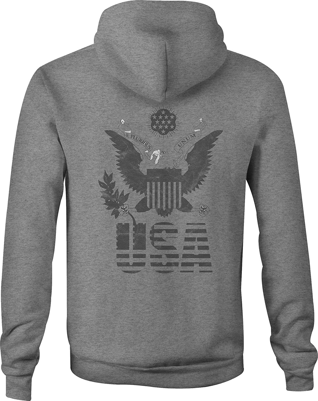 Police Zip Up Hoodie Maine Thin Blue Line Hooded Sweatshirt for Men