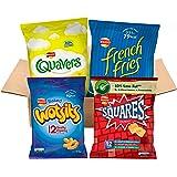 Walkers Under 100 Calories Snacks Box (48 Single Bags)