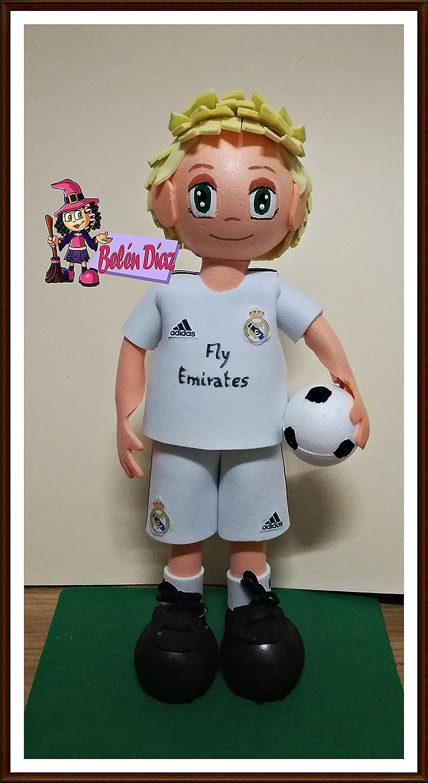 Muñeco fofuchas Real Madrid C.F. 26 cms. fútbol liga: Amazon.es ...