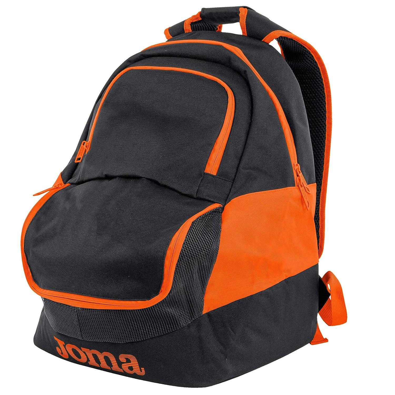 5e9c26a9e Amazon.com | Joma Diamond II Fluoro Style Soccer Backpack (Black/Fluoro  Orange) | Casual Daypacks